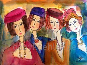 Vier Freundinnen