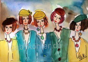 Fünf Freundinnen